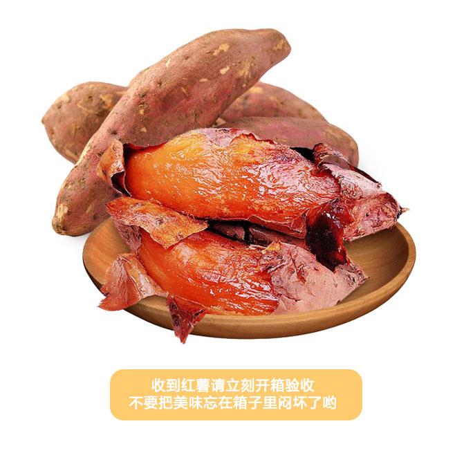 山东烟台烤薯